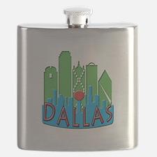 Dallas Skyline NewWave Primary Flask