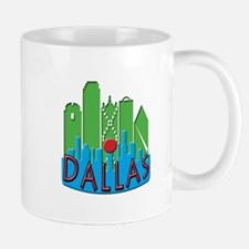 Dallas Skyline NewWave Primary Mug
