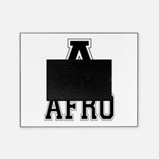 A is for Afro Picture Frame