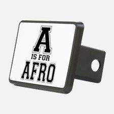 A is for Afro Hitch Cover