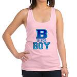 B is for Boy Racerback Tank Top