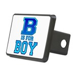 B is for Boy Rectangular Hitch Cover