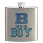 B is for Boy Flask