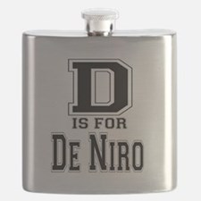 D is for De Niro Flask