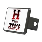 H is for Horror Rectangular Hitch Cover