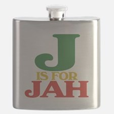 J is for Jah.png Flask