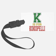 K is for Kokopelli Luggage Tag