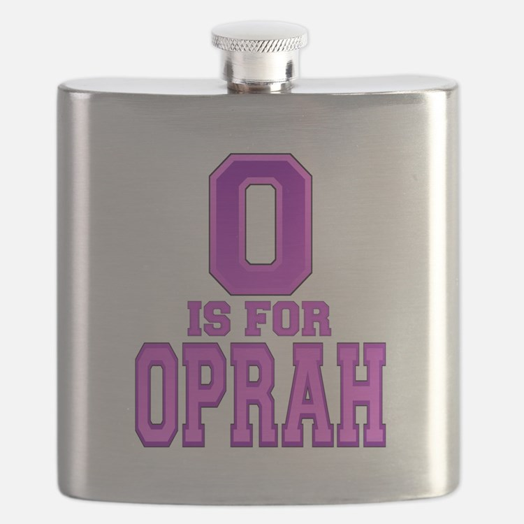 O is for Oprah Flask