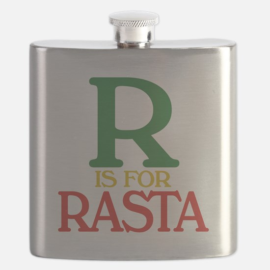 R is for Rasta.png Flask