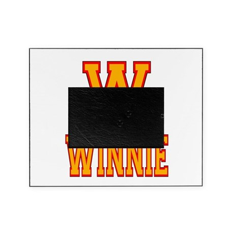 W is for Winnie Picture Frame