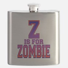 Z is for Zombie.png Flask