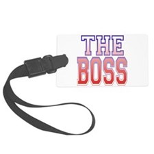 The Boss.png Luggage Tag