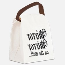 Mirror mirror.png Canvas Lunch Bag