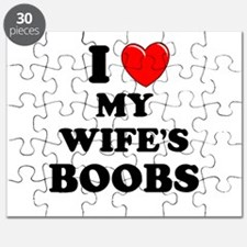 I Heart My Wife's Boobs Puzzle