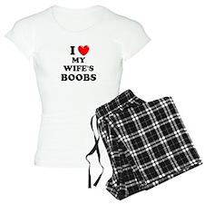 I Heart My Wife's Boobs pajamas