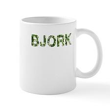 Bjork, Vintage Camo, Mug