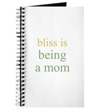 bliss is being a mom Journal
