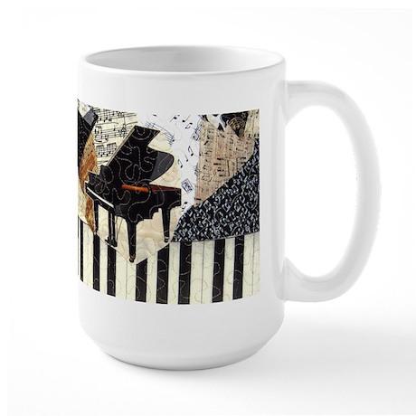 Grand Piano Large Mug
