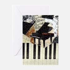 Grand Piano Greeting Cards (Pk of 10)