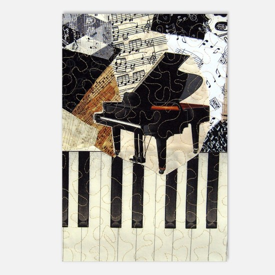 Grand Piano Postcards (Package of 8)