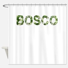 Bosco, Vintage Camo, Shower Curtain