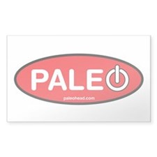 Paleo Power Oval Decal