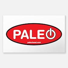 Paleo Power Oval Decal
