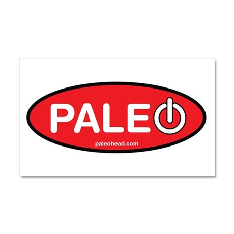Paleo Power Oval Car Magnet 20 x 12