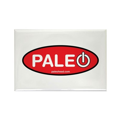 Paleo Power Oval Rectangle Magnet