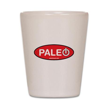 Paleo Power Oval Shot Glass