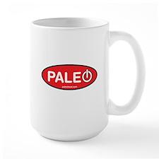 Paleo Power Oval Mug