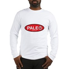 Paleo Power Oval Long Sleeve T-Shirt