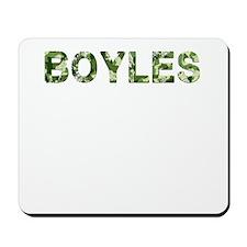 Boyles, Vintage Camo, Mousepad