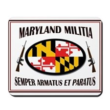 MARYLAND MILITIA Mousepad