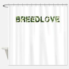Breedlove, Vintage Camo, Shower Curtain