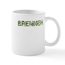 Brennen, Vintage Camo, Small Mug