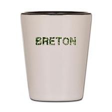 Breton, Vintage Camo, Shot Glass