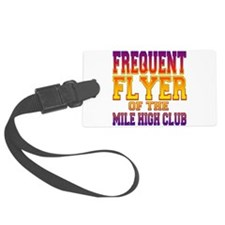 Frequent Flyer.png Luggage Tag