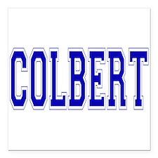 """Colbert.png Square Car Magnet 3"""" x 3"""""""