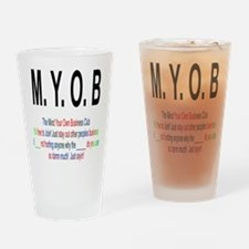 M.YO.B Club Drinking Glass