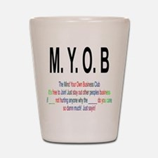 M.YO.B Club Shot Glass