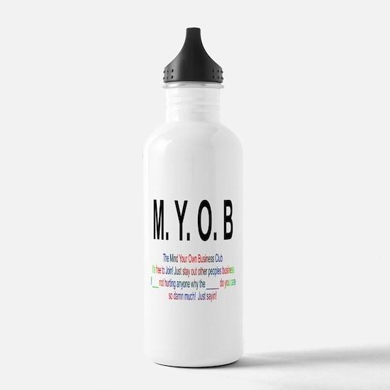 M.YO.B Club Water Bottle