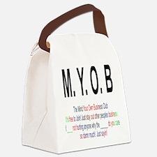 M.YO.B Club Canvas Lunch Bag