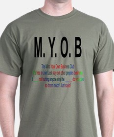 M.YO.B Club T-Shirt