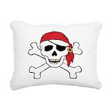Pirate Rectangle Canvas Pillows