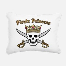 Pirate Princess Rectangular Canvas Pillow