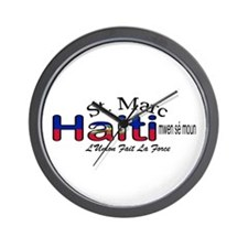 St. Marc Haiti Wall Clock