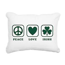 peace_love_irish_green.png Rectangular Canvas Pill