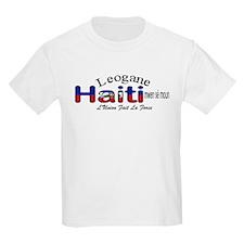 Leogane Haiti Kids T-Shirt