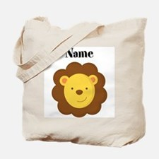 Personalized Lion Tote Bag